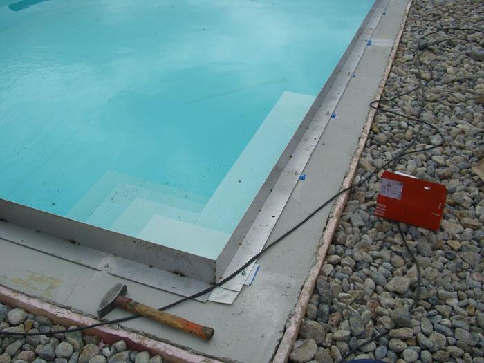 projektbeispiel verlegung einer poolumrandung mit terrasse. Black Bedroom Furniture Sets. Home Design Ideas